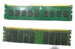 LOT OF  OF 2 MODULES - 8GB RAM EACH - MT & TRANSCEND BRANDS (15176/34)