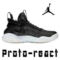 "NIKE AIR JORDAN PROTO-REACT ""BLACK"" JUMPMAN 23 BASKETBALL SNEAKERS BV1654-001 13"
