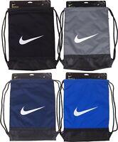 Nike  Mens Unisex Shoe Sack Gym Bag Football PE Kit School Sport Black Blue Grey