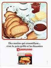 Publicité Advertising 078  1965   pain grillé Gringoire