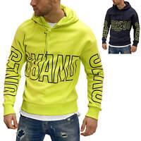 Jack & Jones Herren Hoodie Sweater Print Kapuzenpullover Sweatshirt Casual