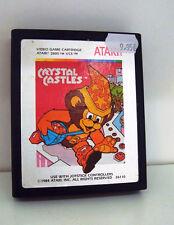 JEU ATARI 2600 - CRYSTAL CASTLES ATARI 1984