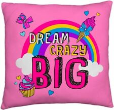 NEW JOJO SIWA BIG BOW CUSHION PILLOW GIRLS  FANS  SQUARE PINK BEDROOM GIFT