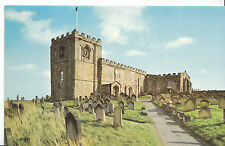 Yorkshire Postcard - The Norman Nave - St Mary's Parish Church - Whitby   N661