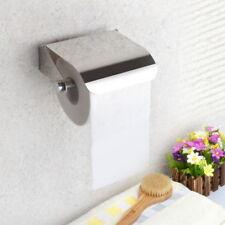 Bathroom Stainless Steel Toilet Paper Roll Holder Toilet Wall Mount Rack HC