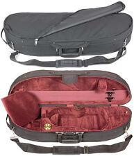 Bobelock 1047 Half Moon 3/4 Violin Case with Wine Velour Interior