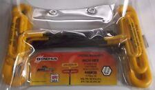 46438 BONDHUS 15.2cm Cojín Nudo mango 't '10 Piezas Imperial Hex Llave Allen