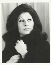 Alicia Nate Argentine Mezzo-Soprano Original Vintage Handsigned Portrait