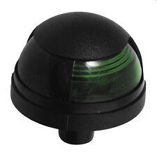 Attwood Pulsar 1-Mile Deck Mount, Green Sidelight - 12V - Black Housing