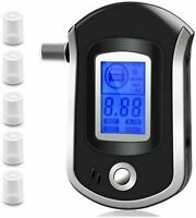 Advance Digital Breath Alcohol Tester LCD Breathalyzer Analyzer Detector Police