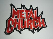 METAL CHURCH EMBROIDERED PATCH