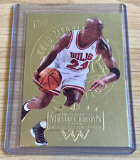 Michael Jordan 1995-96 Fleer Ultra Gold Medallion Edition unreal card