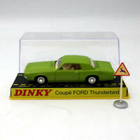 Atlas 1:43 Dinky toys ref 1419 COUPE FORD THUNDERBIRD Diecast Models green