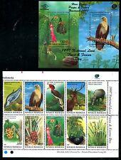Indonesia 1767-1767b MNH Birds Brahminy Kite, Brahminy Kite, Helmeted  x11285