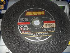 GRINDING DISCO X TRONCATRICE FERRO D.300X3,5X25,4 10 PEZZI PREZZO AFFARE