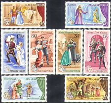 Hungary1967 Opera/Music/Composers/Mozart/Wagner/Verdi/Song/Theatre 8v set n36721