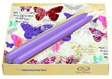 Vajilla De Decoración Set romántico Mariposas Decoupage Papel Servilletas 2 velas de 20/D
