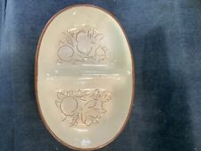 Stangl Pottery Divided Bowl