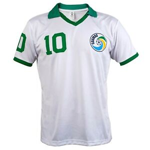 Pele Edson Arantes do Nascimento Retro NY Cosmos Football League Shirt 10 Jersey