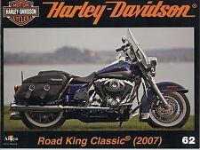 MOTOR CYCLES / UN SIECLE DE HARLEY DAVIDSON / ANNEE 2012  N° 62 ROAD KING
