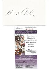 Gene Pool handsigniert 3 x 5 Index Card-JSA Cert Echtheits-NFL
