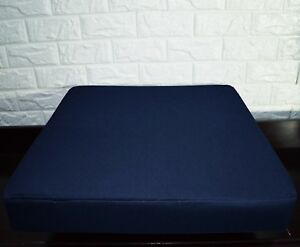 PL10t Navy Blue Specialist Water Proof Outdoor Box Seat Cushion Cover*Custom Siz