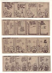 Bloom County by Berke Breathed - FIRST month! - 8 daily comic strips - Dec. 1980