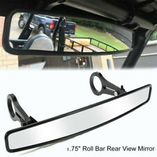 "1.75"" Roll Bar Wide Rear View Mirror Set For UTV Polaris RZR800 XP900 XP1000 USA"