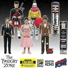 "SDCC 2015 EE EXCLUSIVE Twilight Zone ""In Search of an Exit"" 5 Pack COLOR Figures"