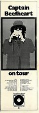 (Sds)24/3/1973Pg17 Captain Beefheart & Beckeet Concert Tour Dates Advert 15x5