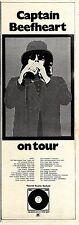 (Sds)24/3/1973Pg17 Captain Beefheart & Beckeet Concert Tour Dates Advert 15x5