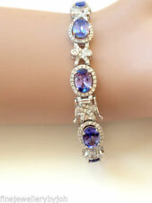 Tanzanite Natural Not Enhanced Fine Bracelets