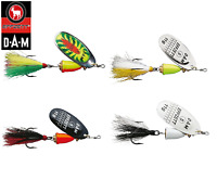 D.A.M Effzett Executor Dressed Spinner Fishing Lure 3 - 11g Various Colours