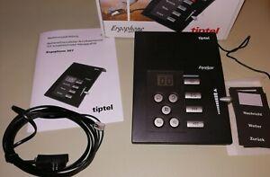 tiptel Ergophone 307 Anrufbeantworter, 40 min Aufzeichnung Senioren große Tasten