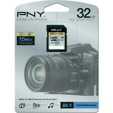 NEW SEALED PNY 32GB HIGH SPEED SDHC MEMORY CARD