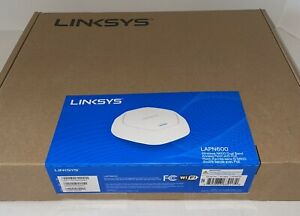 Linksys Business LAPN600 Wireless-N600 Dual Band Access Point 600 Mbps -Sealed