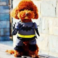 """New """"BATMAN"""" Dog Outfit For Smaller Dogs With Big Ambitions, Great Gift"""
