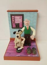 Wallace And Grommit Alarm Clock 1995 Vintage (b33)