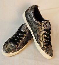 G by Guess Woman's Size 8 Snakeskin Print Sneakers Tennis Shoes