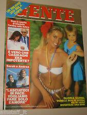 GENTE=1986/34=GLORIA GUIDA=CORRADO PANI=GUIDO GOZZANO=GIORGIO PONTIGLIO=BEARZOT