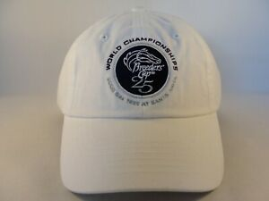 Breeders Cup 25th World Championships 2008 Santa Anita Hat Cap White