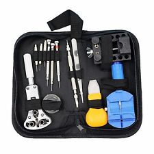 New Black Multi-functional Canvas Watch Repair Portable Tool Bag Zipper Storage