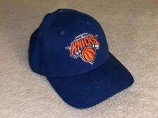 ADIDAS New York Knicks NBA Baseball Cap Hat Adjustable OS Team Logo Strapback