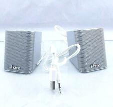 iHome iDM15 Rechargeable Portable Bluetooth Speakers with Speakerphone Silver