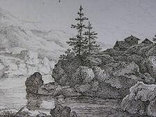 F. RECHBERGER ´LANDSCHAFT NACH C. W. E. DIETRICH (DIETRICY); SACHSEN´  ~1800