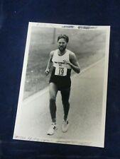 1984 Peter Pfitzinger Olympic Marathoner New Balance Track Glossy Press Photo