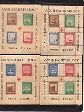 Red Cross German & Colonies Sheet Stamps