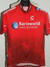 Bike Cycling Jersey Shirt Maillot Cyclism Team Barloworld Cannondale Size M
