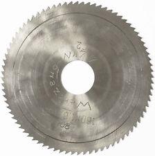 Lama sega circolari taglio dei metalli HSS 144 x 1,6 32 80 DENTI DADO Alesatore