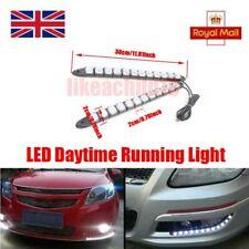 2X Car Driving Safety LED Daytime Running Light DRL Fog Lamp DC12V White